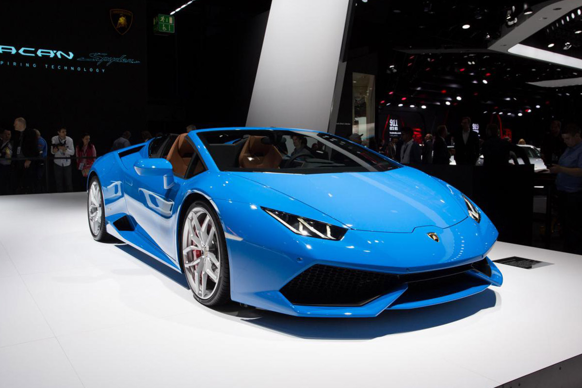 lamborghini huracan spider 2015. Black Bedroom Furniture Sets. Home Design Ideas