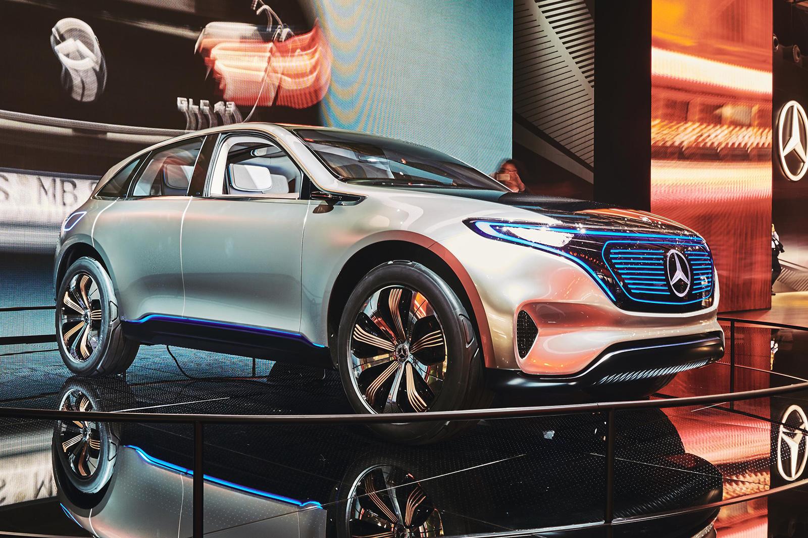 Mercedes benz eq concept for Mercedes benz concept eq
