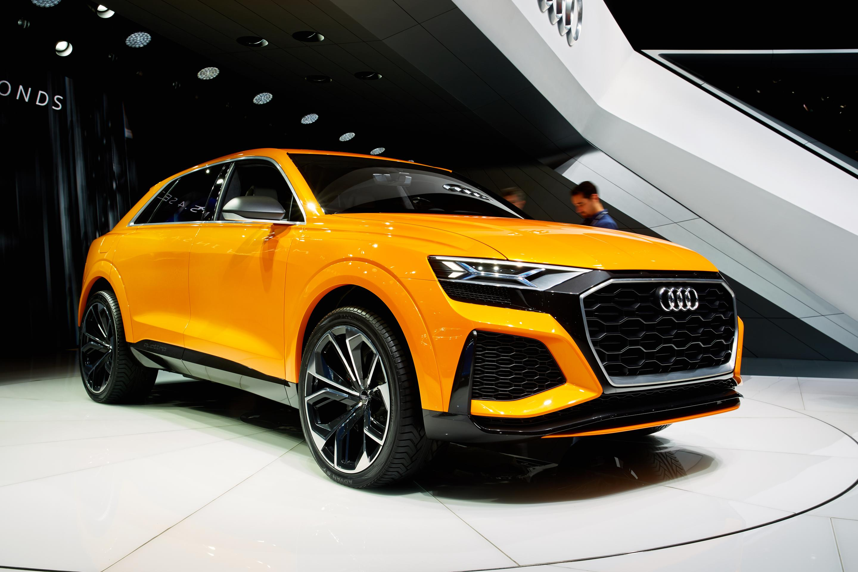 2017 audi q8 sport concept. Black Bedroom Furniture Sets. Home Design Ideas
